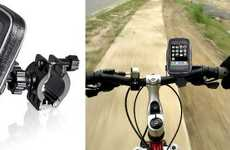 All-Weather Bicycle Docks - Ride with Your Mobile Thanks to the Brackerton Universal Bike Mount
