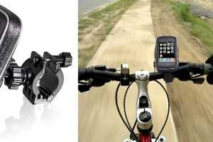 Ride with Your Mobile Thanks to the Brackerton Universal Bike Mount