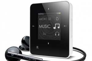 Creative ZEN Style M300 Brings Affordable High-Tech Music Players