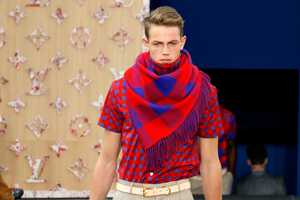 The Louis Vuitton 2012 Spring Line Boasts Textures & Preppy Ensembles