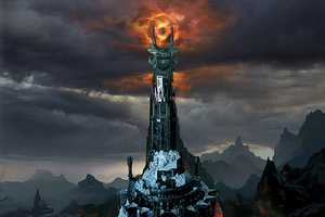 Lord of the Rings Comes to Life With This Barad-dur LEGO Tower
