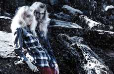 Misty Menswear Lookbooks - Orri Henrisson 2011 Fall/Winter Line Showcases Versatile Snowy Fashion