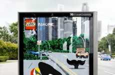 Building Block Billboards - These LEGO Outdoor Ads Blend Imagination and Reality