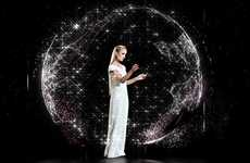 Completely Holographic Catwalks - Stefan Eckert Holds World's First All 3-D Hologram Fashion Show