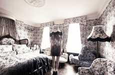 Retro Black Bed Sets