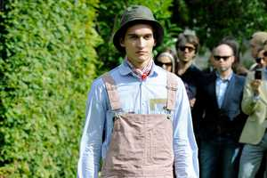 The Junya Watanabe 2012 Spring/Summer Line Presents Overall High Fashion