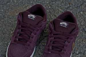The Nike SB Dunk Low Shoe Boasts Classic Style & an Unusual Colorway