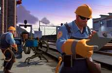 Freemium Video Games - Team Fortress 2: Triple-A Goes Free-to-Play
