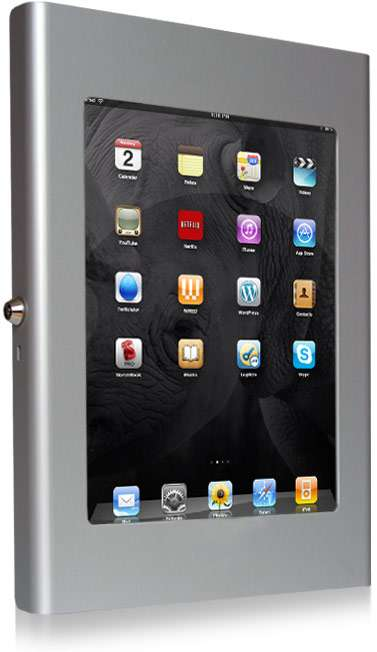 Retail Tablet Enclosures - iPad Kiosk Mount Makes it Easy to Set Up a Public Touchscreen Stand