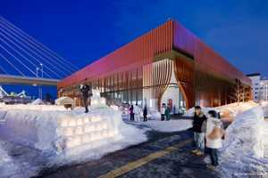 The Nebuta House by Molo Design is a Giant Paper Lantern