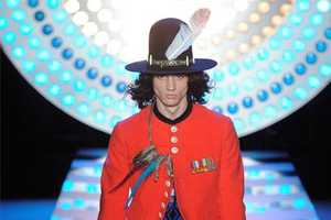 The John Galliano 'Big Splash' Spring/Summer 2012 Collection is for Rock Stars