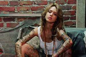 'Celebrity Body Art' Contest Adorns Famous Vixens with Tribal Designs