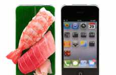 Foodie Smartphone Covers - Japanese Food iPhone Cases Make Talk-Time Tasty