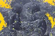 Explosive Eye-Popping Paintings