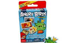 Aggressive Avian Diversions - The Angry Birds Card Game Brings the App into the Tangible World