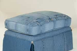 The Denim-Covered Furniture Designs by LegendBlues Produce Nostaglia