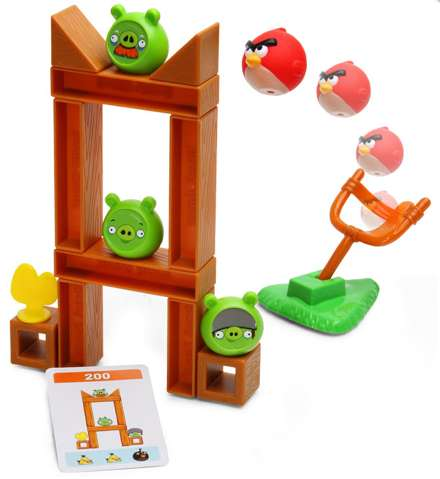 Bitter Bird Board Games - The Angry Birds Board Game Brings Angry Avians to Life