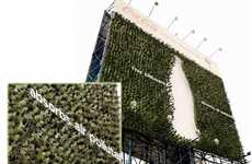 Sustainable Soda Campaigns - The Fukien Tea Plant Billboard was Created by Coca-Cola and WWF