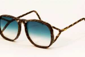 Studio Swine's Human Hair Glasses are Ideal for Eco-Friendly Fashionistas