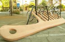 This Knowhow Shop LA Bike Rack is a Behemoth Brush
