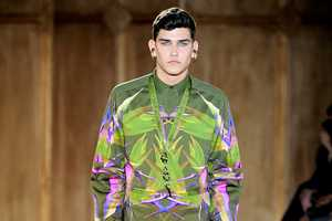 The Givenchy 2012 Spring/Summer Line Boasts Bold Green Ensembles