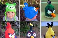 Comfy Avian Headgear - These Angry Birds Crochet Hats Keep Your Head Warm for the Winter