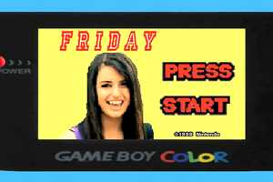 The Rebecca Black Gameboy Video is Hilariously Geeky