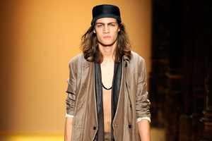 The Ann Demeulemeester 2012 Spring Lines Boasts Sheer Beatnik Styles