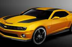 Autobot Automobile Upgrades - The 2012 Chevrolet Camaro Transformers Edition Lets You Own Bumblebee