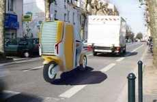 Hybrid Transport Trucks
