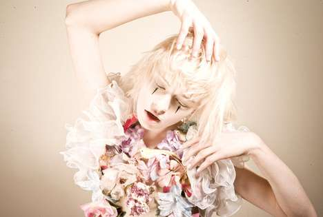 Soft Playful Photoshoots - The Clowning Around Series is Full of Color and Emotion