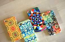 Kaleidoscopic Smartphone Covers - Dzynwrld iPhone 4 Cases Paints Mobiles with Wondrous Colors