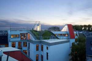 The JDS Architects Rooftop Playground Promotes Green Living