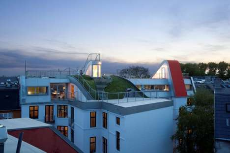 Elevated Summer Wonderlands - The JDS Architects Rooftop Playground Promotes Green Living