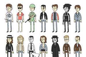 These Derek Eads Johnny Depp Pictures Show Depp's Versatility