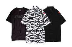 West Coast Camo Streetwear - The Stussy Hurricane Collection Arrives With New Flashy Outfits