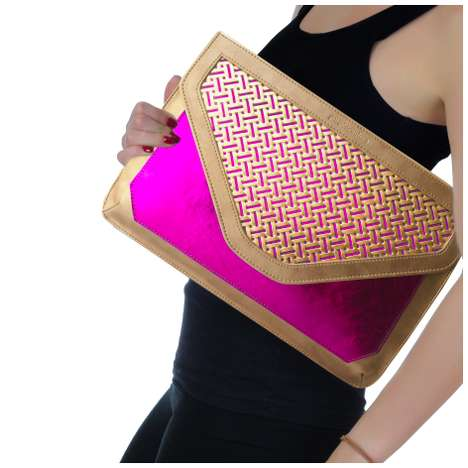 Gigantic Geometric Clutches - The Poupee Couture 'Art Deco' Collection Channels Retro St