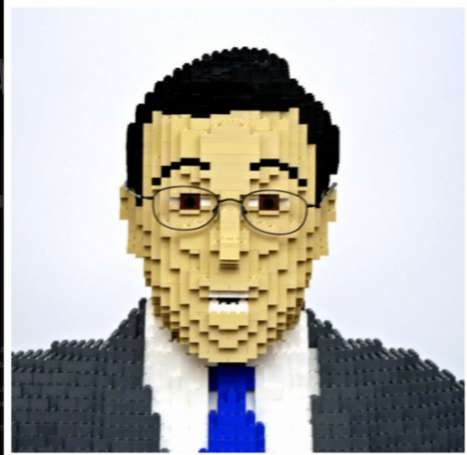Stephen Colbert LEGO