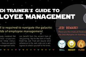 The Jedi's Trainer Guide to Employee Management Shows You the Work Force