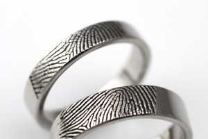 The WilliamsGoldsmiths Rings are Imprinted With Love