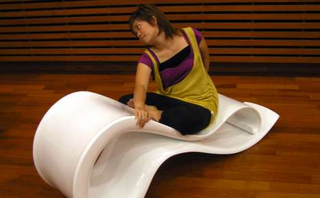Curvy Pilates Loungers - The Backflip Fitness Chaise Encourages a Stretch
