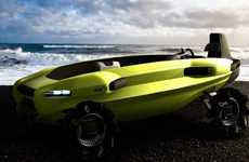 Amphibious Surf Autos - The Volkswagen BeachRescue Saves Swimmers' Lives