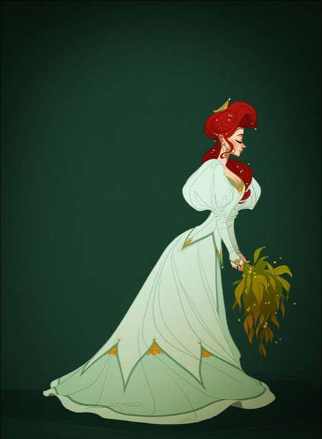 Historically Correct Disney Princesses