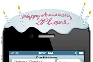 The Happy Birthday iPhone Infographic Tracks its Progress