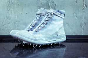 This Icicle Sneaker by Carol Christian Poell is Trickling with Style