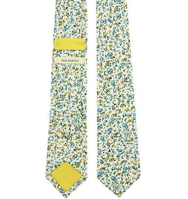 Petal-Patterned Neckties - Good Heavens Neckties are Delicate and Dapper