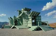 Eco-Friendly Matrix Mansions - The Michael Jantzen M House is Powered by Sustainable Energy Sources
