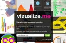 Vizualize.Me Turns Your LinkedIn Profile Into a Colorful Personalized Graph