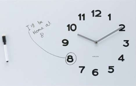 Karlsson Whiteboard Wall Clock