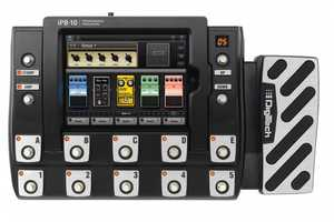 The DigiTech iPB-10 Pedalboard Brings Stompboxes to the Digital World